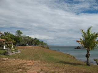 View of the sea at Boca Chica cliff house