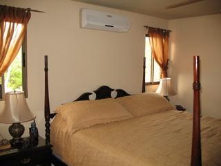 Master bedroom in Boca Chica house