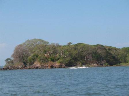 View from the sea at Boca Chica Panama