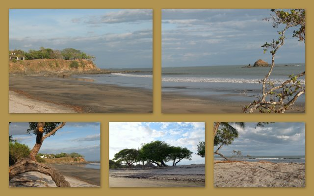 beach front estate lots at Boca Chica Panama